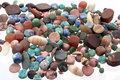 The Semiprecious stones Royalty Free Stock Images