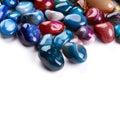 Semiprecious stones Royalty Free Stock Photo