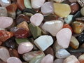 Semiprecious stones useful as background Stock Photos
