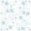 Semless χειμώνας προτύπων Στοκ Εικόνες