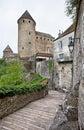 Semur-en-Auxois in Burgundy, France Royalty Free Stock Photo