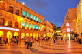 Senado square macau june tourists visit the historic centre of macau on june in macau the historic centre of macao was inscribed Stock Photography