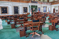 Senate Chamber in Texas State Capitol in Austin,  TX Royalty Free Stock Photo