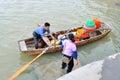 Send the fish boat in zhuhai seaside photo was taken as Royalty Free Stock Photo