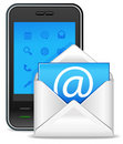 Send a letter icon Royalty Free Stock Photo