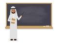Senior Arab teacher