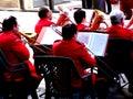Senior big band Royalty Free Stock Photo