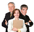 Senior Business Team Royalty Free Stock Photography