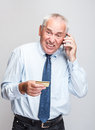 Senior businessman Royalty Free Stock Photo