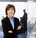 Senior businesswoman in office Royalty Free Stock Photo