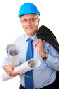 Senior construction worker Royalty Free Stock Photo