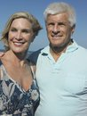 Senior Couple On Beach Vacation Royalty Free Stock Photography