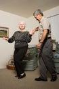 Senior couple dancing Royalty Free Stock Photography