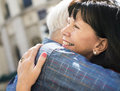 Senior couple love sweet embrace Concept Royalty Free Stock Photo