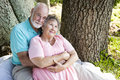 Senior Couple - Nostalgia Stock Photo