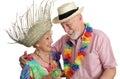 Senior Couple Vacationing Royalty Free Stock Photography