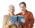Senior Duet Royalty Free Stock Images