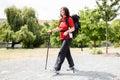 Senior Female Hiker Royalty Free Stock Photo
