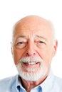 Senior Man - Closeup Head Shot Royalty Free Stock Photo
