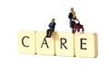 Senior people care B