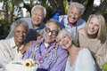 Senior People Celebrating Birthday Royalty Free Stock Images