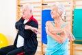 Senior People In Fitness Exerc...