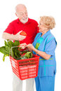 Senior Shoppers - Tomato for Her Stock Photos