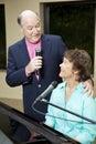 Senior Singer Serenade Royalty Free Stock Photo