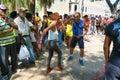 Senior street salsa in Havana Royalty Free Stock Photo
