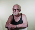 Senior In Tank Top Royalty Free Stock Images