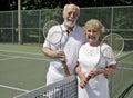 image photo : Senior Tennis Players
