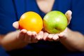 Senior woman with fruits elderly healthy diet and nutrition Royalty Free Stock Photo