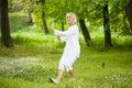 Senior woman Tai chi Royalty Free Stock Photo