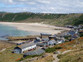 Sennen Cove, Cornwall Royalty Free Stock Photo