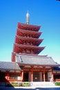 Senso Buddhist temple in Asakusa, Tokyo, Japan Stock Photos