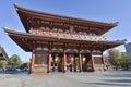 Sensoji Buddhist Temple in Asakusa, Tokyo, Japan Royalty Free Stock Photo