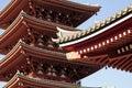 Sensoji temple in Tokyo Royalty Free Stock Photo