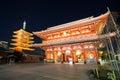 Sensoji temple Tokyo Royalty Free Stock Photo