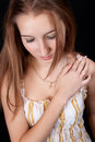 Sensual young girl Royalty Free Stock Photos