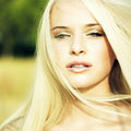 Sensual young woman Royalty Free Stock Photos