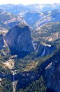 Sentinel dome view from in yosemite national park in california Stock Image