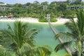 Sentosa Palawan Beach Royalty Free Stock Photo