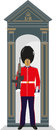 Sentry box guardsman british buckingham palace and tower of london guard Stock Images