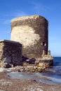 Sentry serf tower on coast - 2 Royalty Free Stock Photography