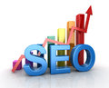 Seo Concept with Business Chart