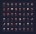 Seo and development icon set vector illustration eps Royalty Free Stock Photo