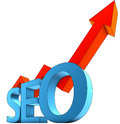 Seo icon high resolution rendering of a Royalty Free Stock Photos