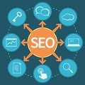 SEO marketing concept Stock Photos