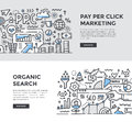 SEO & Pay per Click Dooddle Banners