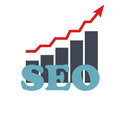 Seo search engine optimization flat icon vector illustration this is file of eps format Royalty Free Stock Photo